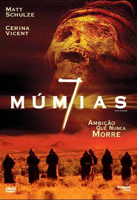 Filme Poster 7 Múmias DVDRip XviD & RMVB Dublado