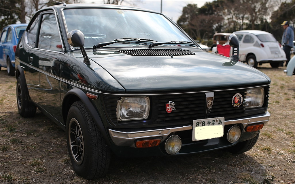 Suzuki Fronte Coupe, małe auta, kei car, stare, ciekawe, fajne