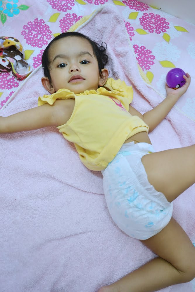 Don't let a wet diaper disturb your baby's sleep | The Pink Stilettos