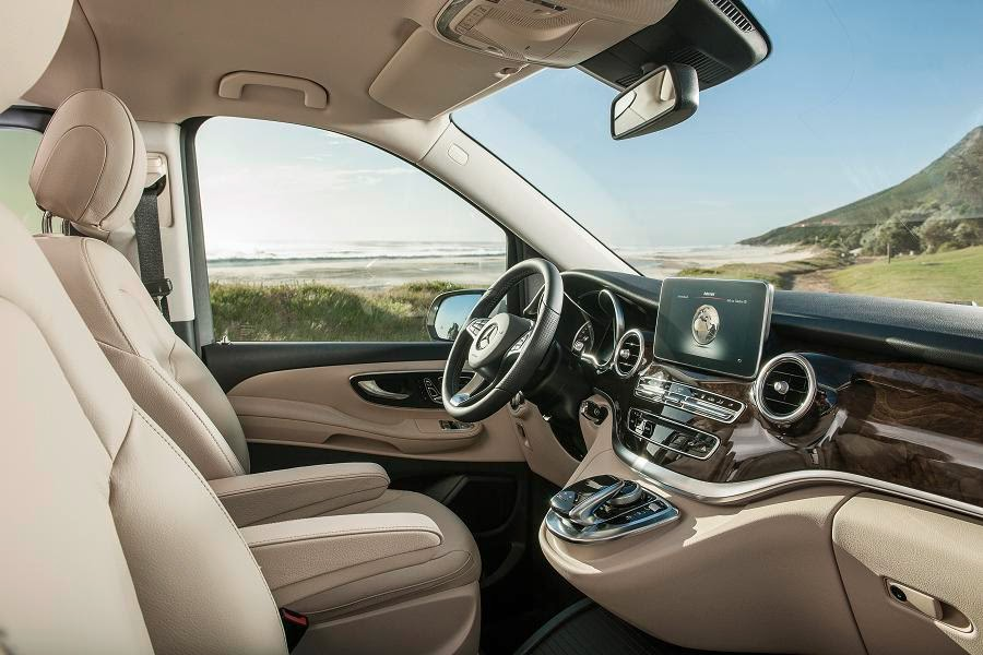 Mercedes-Benz V-Class (2014) Interior 2