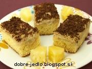 Ananásový koláč - recept