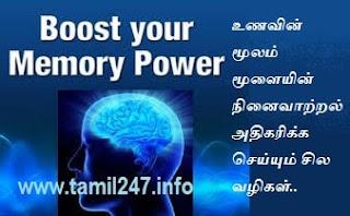 நினைவாற்றல் அதிகரிக்க சில வழிகள், moolai ninaivatral adhigarikka vazhigal, Moolai ninaivatral valara tips in tamil