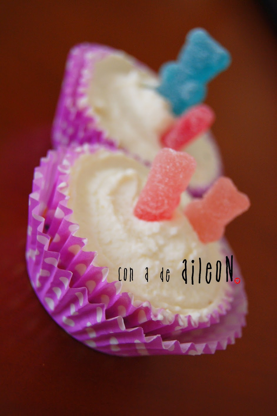 cupcake madalena frosting mascarpone aileon casero receta