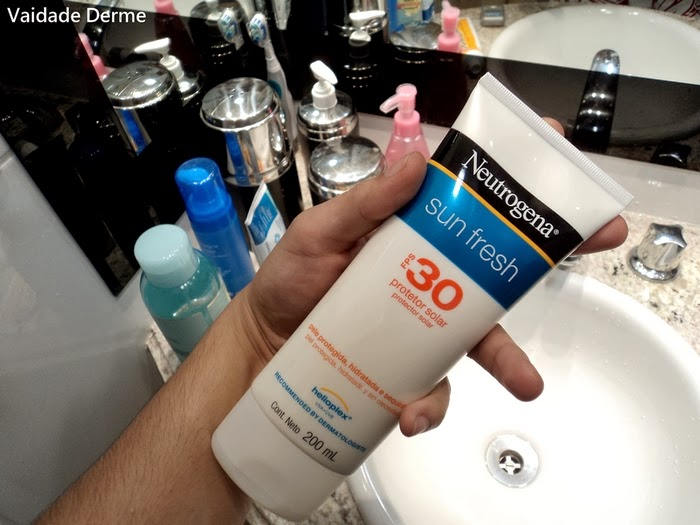 Sun Fresh Corpo FPS 30 da Neutrogena