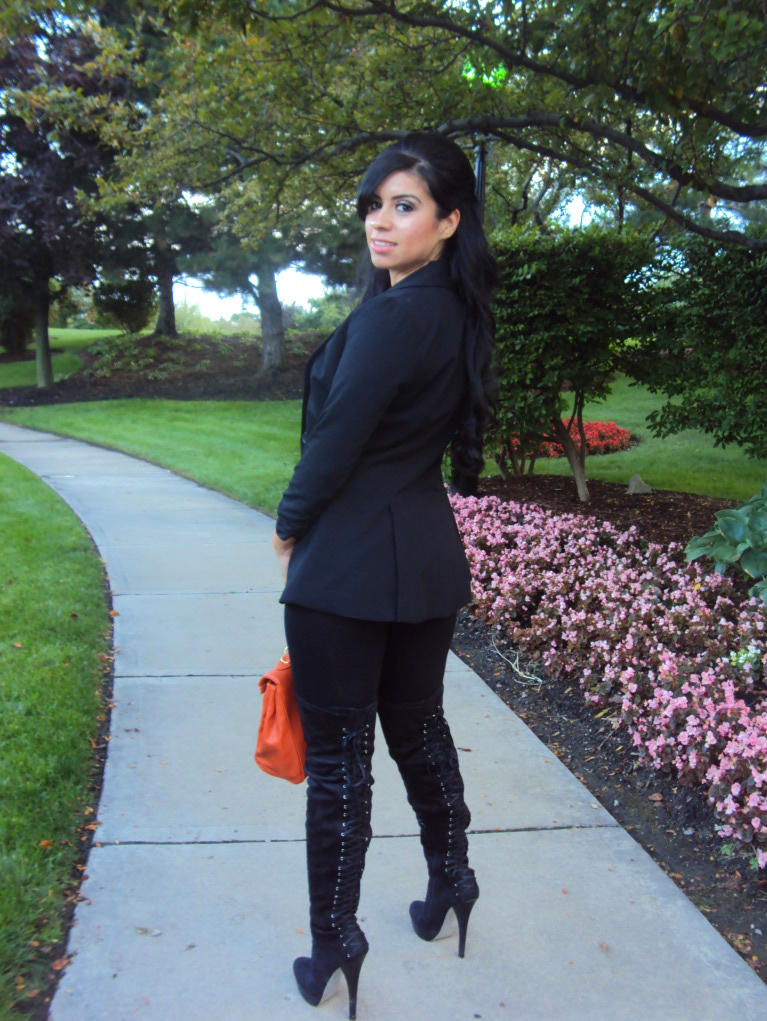 Style with Hilda: Thigh-high boots! (Kim Kardashian inspired)