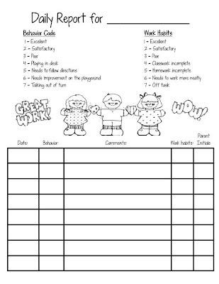 smiling and shining in second grade behavior chart. Black Bedroom Furniture Sets. Home Design Ideas