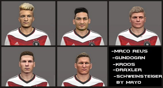 PES 2014 Germany Facepack By mayo