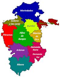 Mapas de la Provincia de Burgos