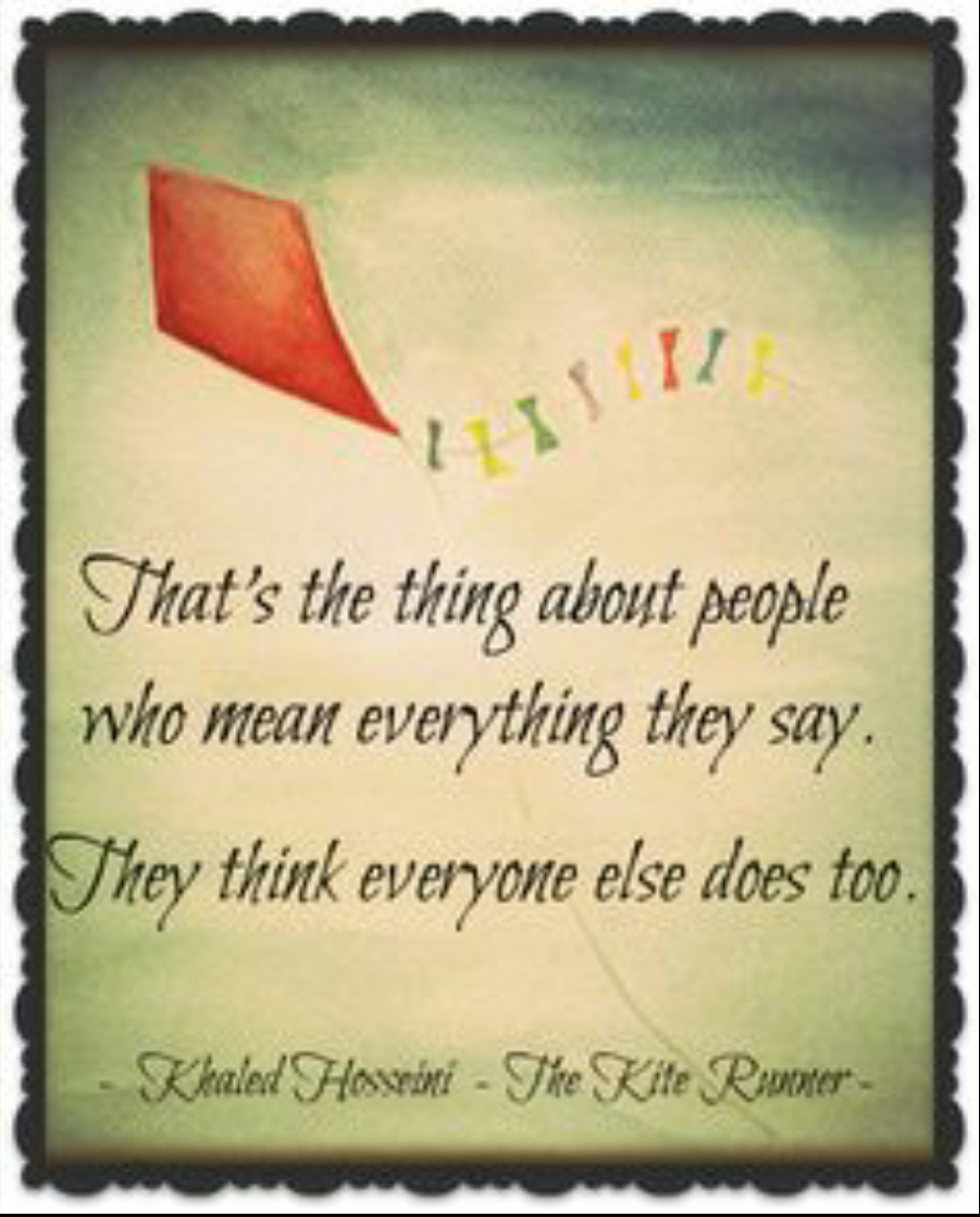 overcome life the kite runner by khaled hosseini because its themes of friendship betrayal guilt redemption and the uneasy love between fathers and sons are universal themes and not specifically