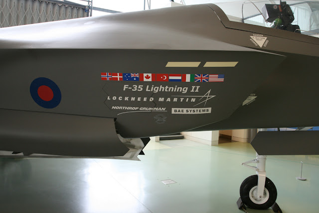 F-35 JSF country flags