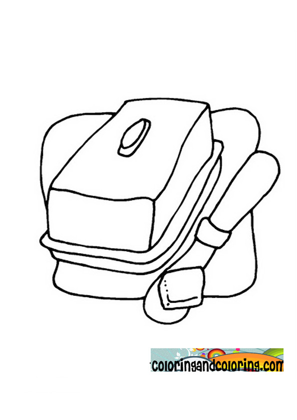 of butter free coloring pages
