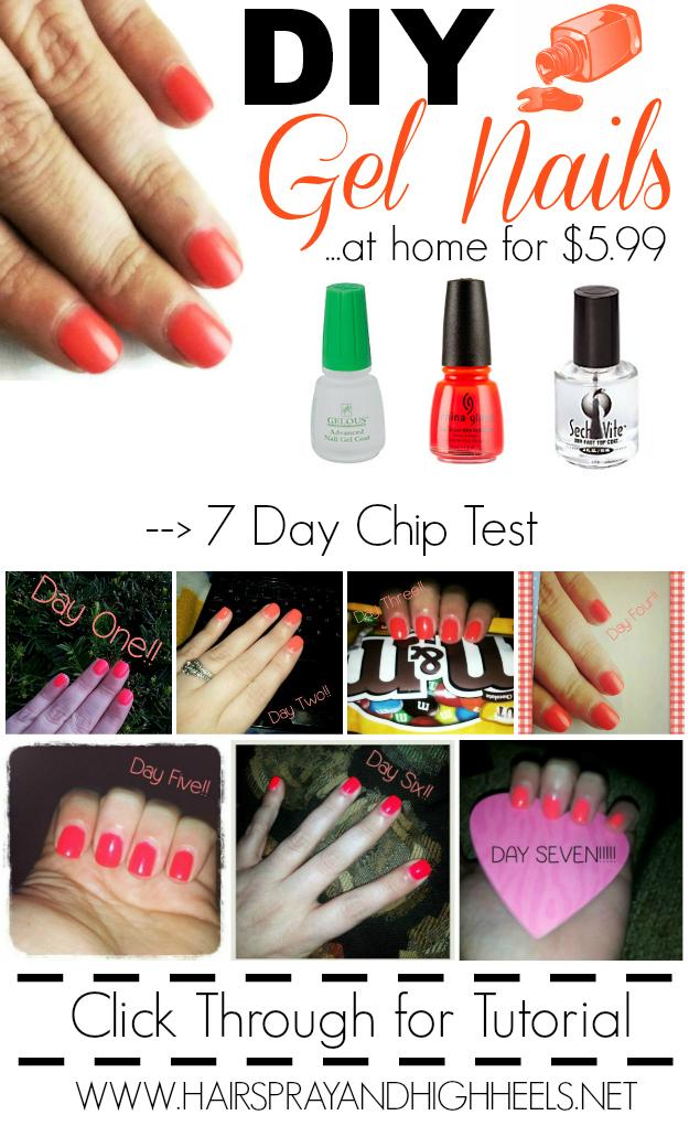 Gel nail polish home use