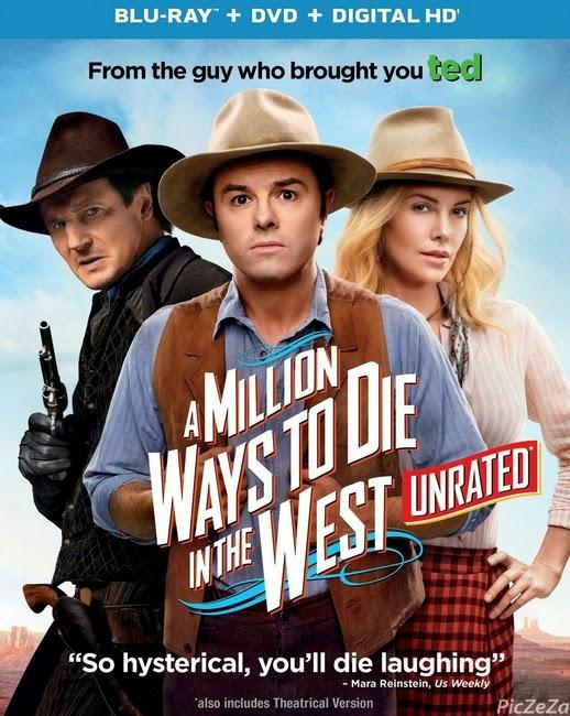 [ดูหนัง HD ออนไลน์ มาสเตอร์] A Million Ways To Die In The West (2014) สะเหล่อไม่แอ๊บแสบได้โล่ห์ [พากย์ไทย]