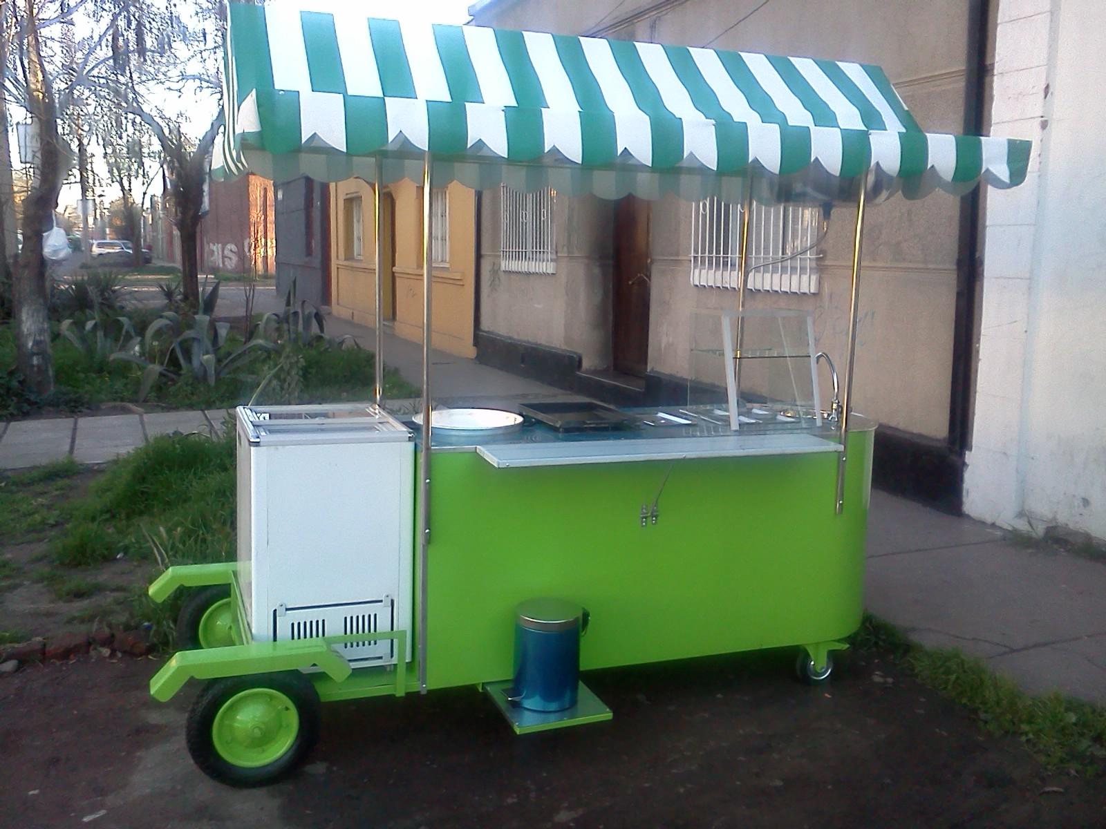 Carros de comida rapida completos fritura mote churrascos for Compro estanque de agua