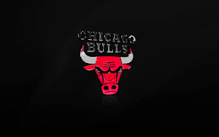 Chicago Bulls 3D Logo HD Wallpaper