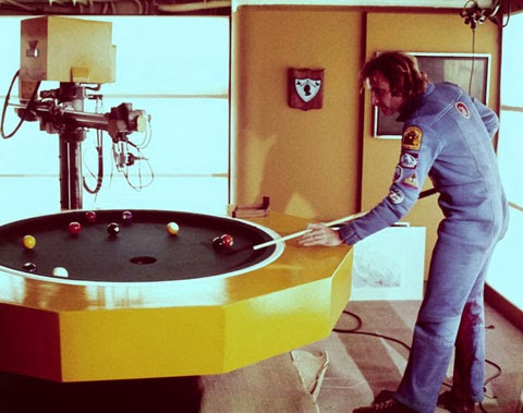 Silent Running robotic pool table.