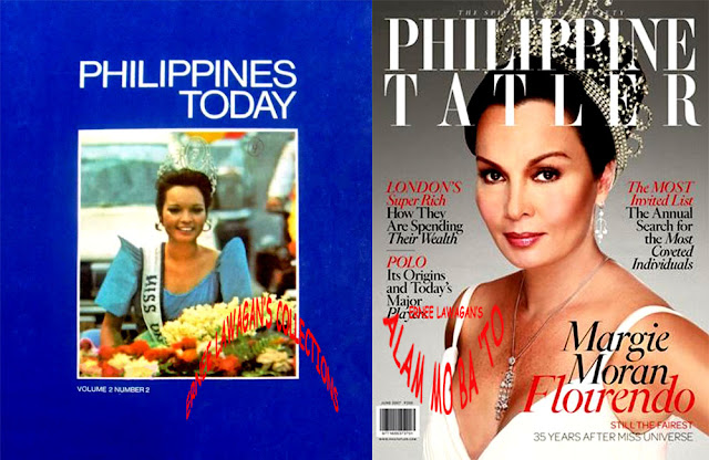 Miss Universe 1972 Margarita Moran on the covers of Philippine Today