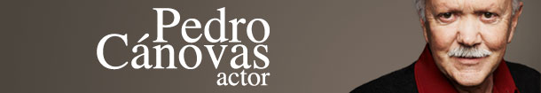 Pedro Cánovas · Actor