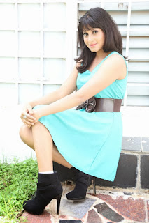 Actress Ira Pictures in Short Dress at Prabhanjanam Movie Opening 0030