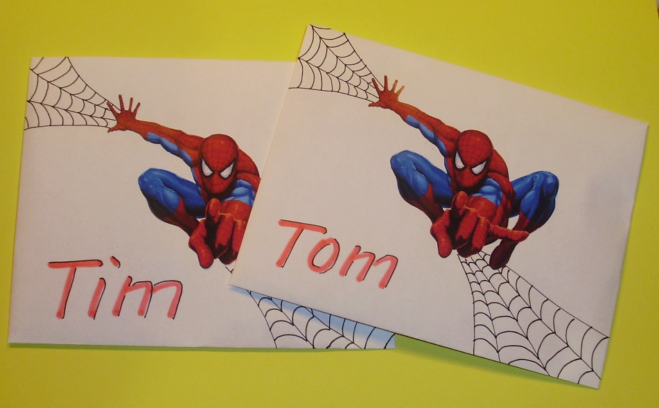 Einladung Kindergeburtstag, Ultimate Spiderman U2013 Onconnect, Einladung