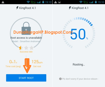 Root Android KingRoot Tanpa PC