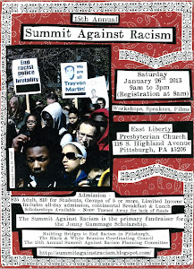 Summit Against Racism Flyer