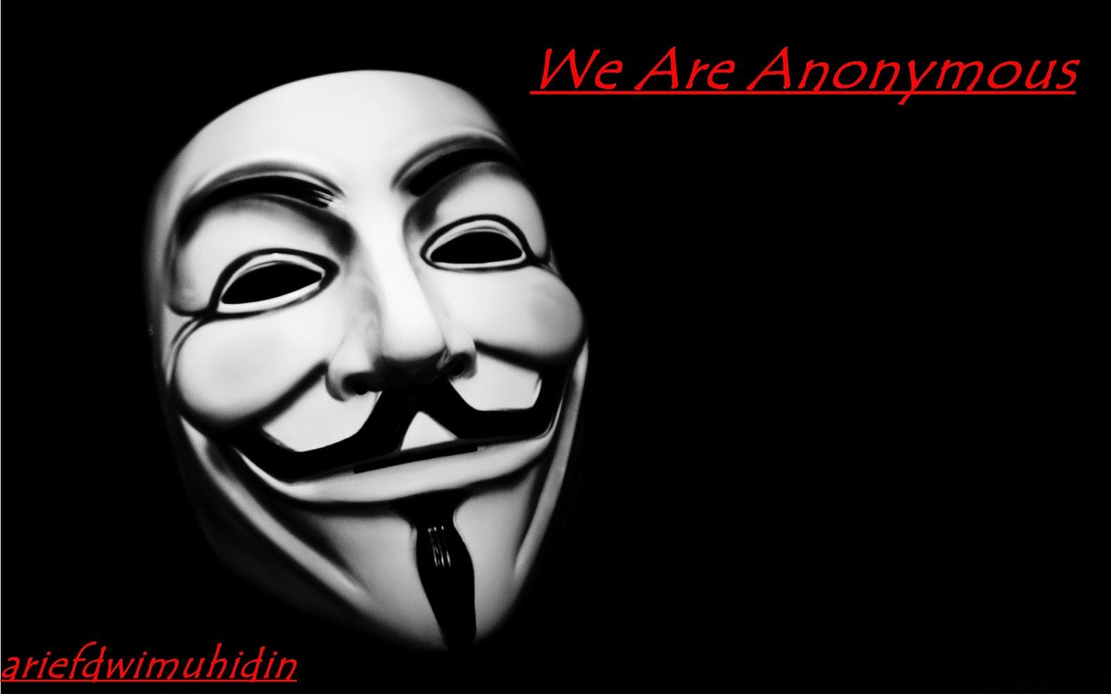 1611 Kumpulan Kata Kata Bijak Dari Hacker Anonymous Arief Dwi Muhidin
