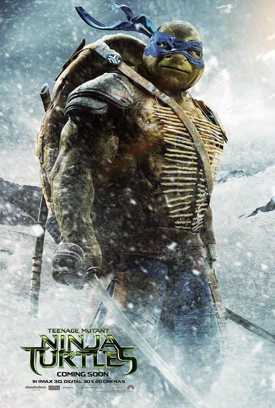Las Tortugas Ninja, estreno el 26 de septiembre de 2014