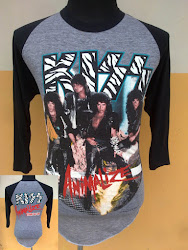 '84 KISS Animalize Rayon