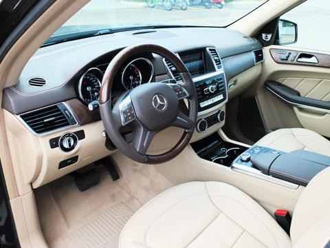 Nội thất Mercedes GL500 2013