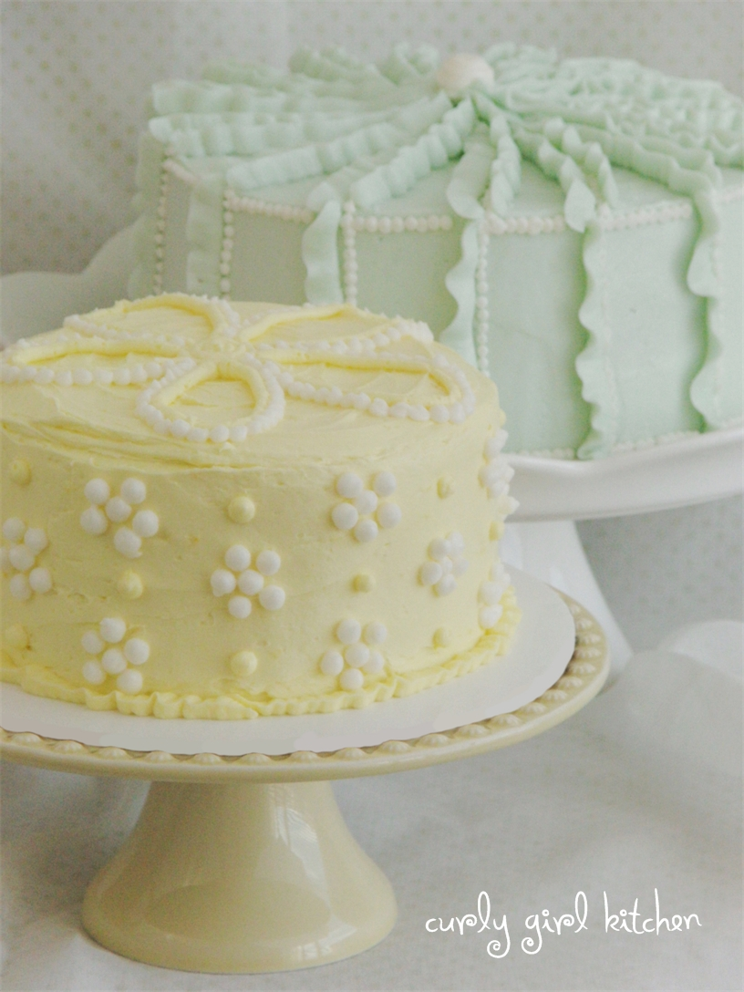 Curly Girl Kitchen Summer Cakes In Pretty Pastels Dots
