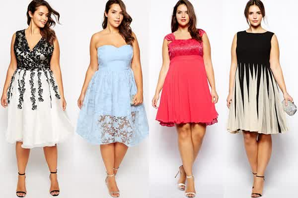 Superbe Informal Plus Size Guest Wedding Dresses Outfits