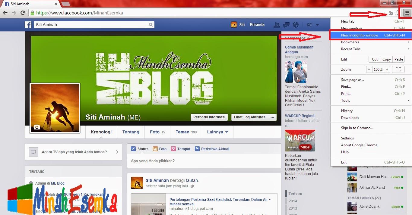 Cara Login Dengan Dua Akun Facebook Di Google Chrome