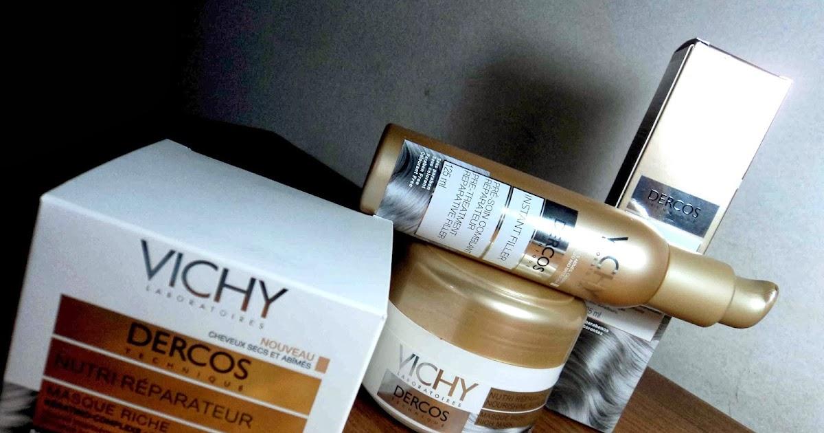 Dercos Máscara e Instant Filler Sérum Nutri Reparadora Creme da Vichy | Cabelos Mais Que Perfeitos