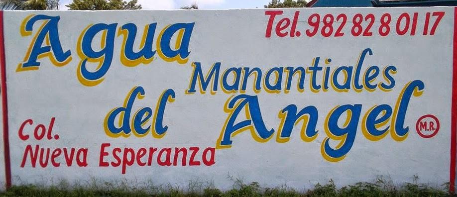AGUA MANANTIALES DEL ANGEL