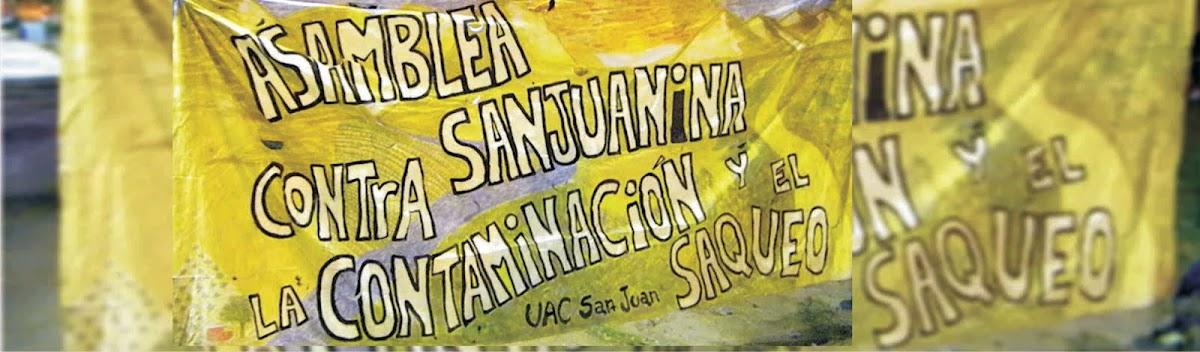 Asamblea Sanjuanina Contra la Contaminación y el Saqueo
