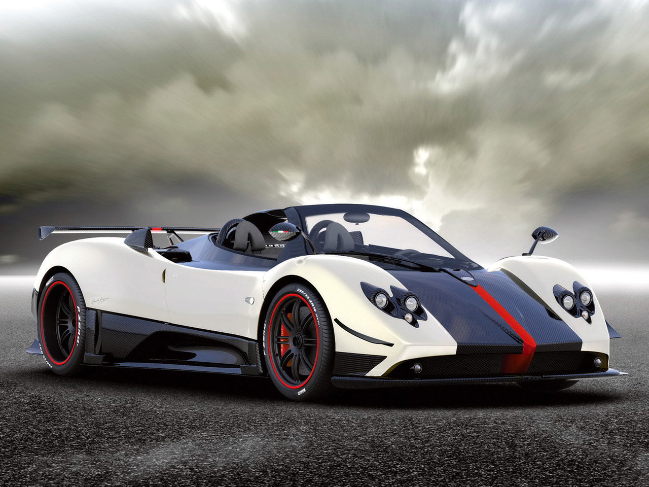 Pagani Zonda Cinque Roadster on electric cars sold in usa 2016