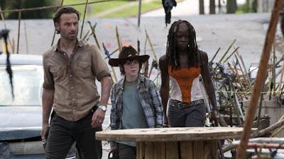 Escena del episodio 3x12 de la serie The Walking Dead