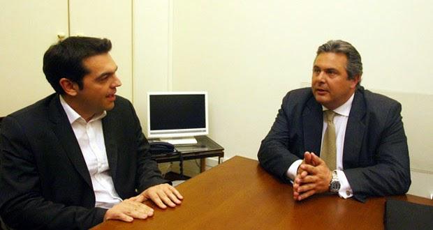 Κυβέρνηση συνεργασίας με τον ΣΥΡΙΖΑ ανακοίνωσε ο Πάνος Καμμένος