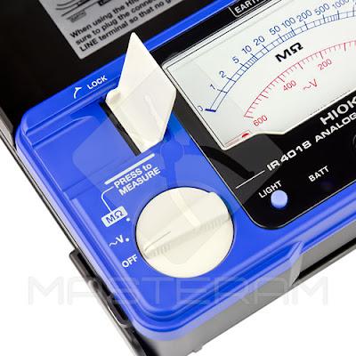 Переключатель режимов мегаомметра HIOKI IR4018-20