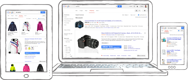 Check off your holiday gift list with Google Shopping...