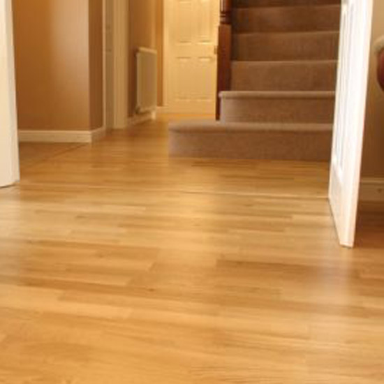 Laminate flooring for At floor or on floor