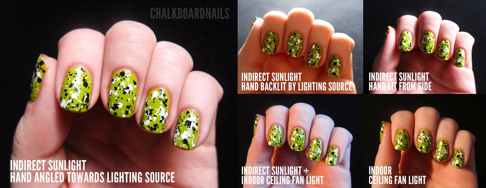 Nail Photography Basics (Part I) | Chalkboard Nails | Nail Art Blog