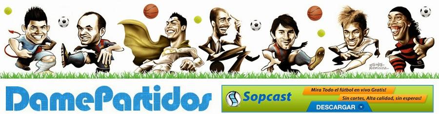 DAME PARTIDOS |  Fútbol gratis online, en vivo y en directo