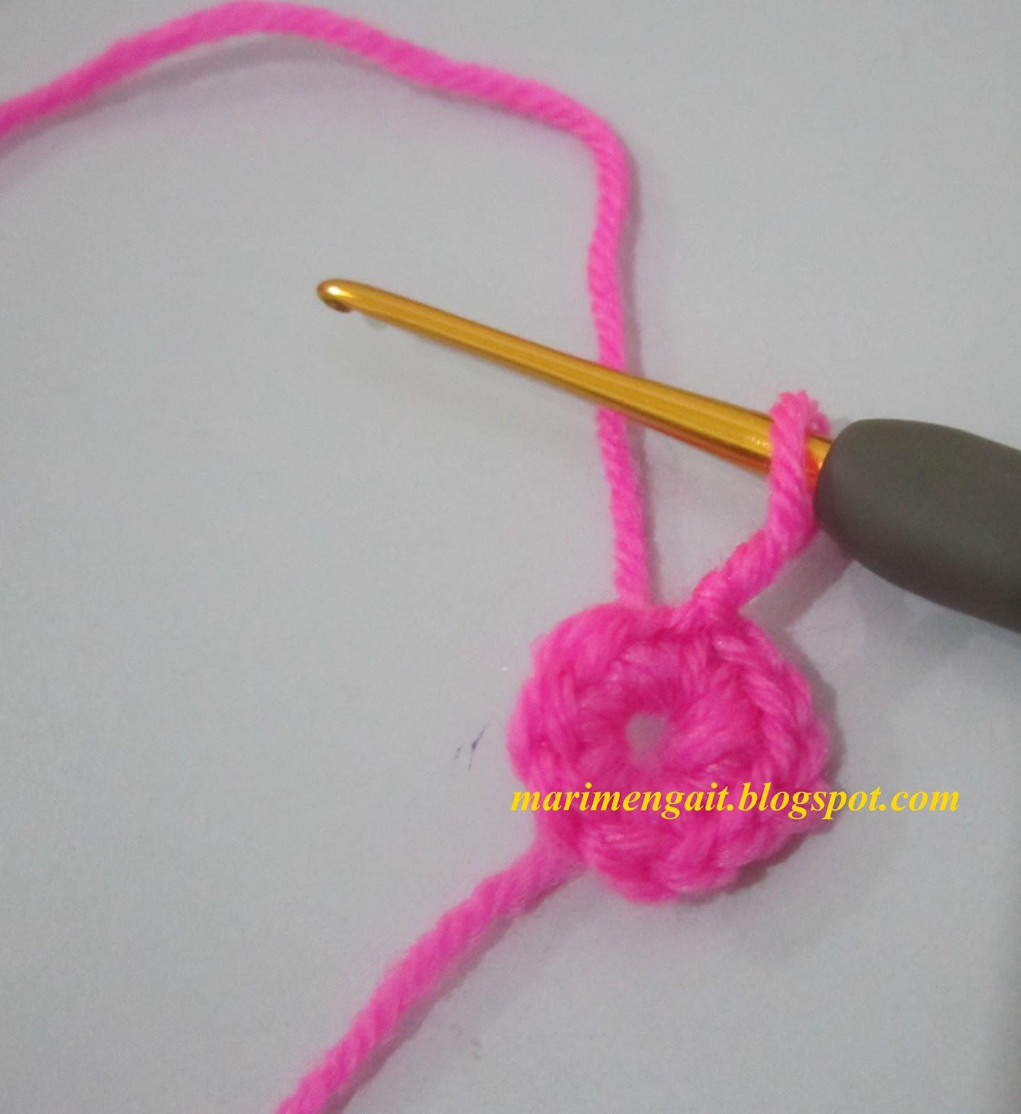 Diagram kait bunga car wiring diagrams explained projek 2 mengait bunga berkelopak petal puff mari belajar rh marimengait blogspot com ccuart Images