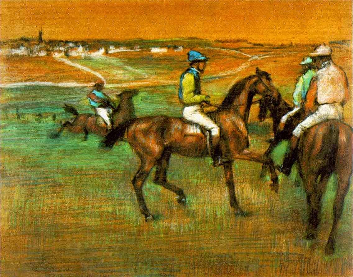 Chevaux de course, 1885-1888