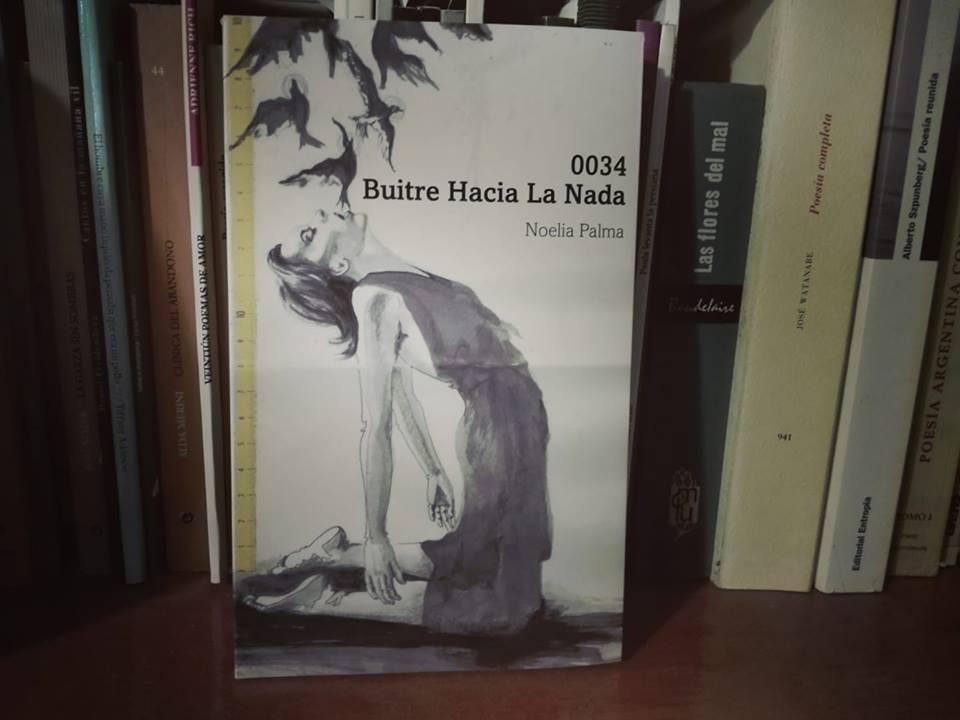 0034 / Buitre hacia la nada, Noelia Palma, Ombligo cuadrado, 2018
