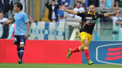 Lazio Lecce 1-1 highlights sky