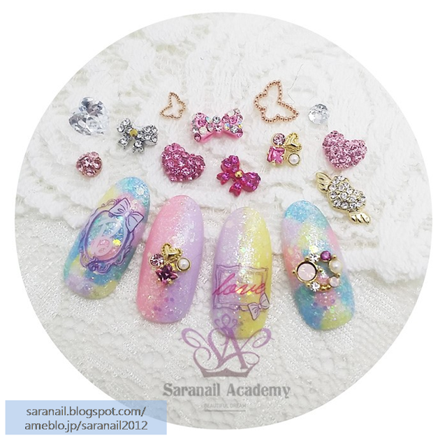 Nail Art For Valentine/ Pastel Colored Gel Polish/ Cute and Lovely Nail Art