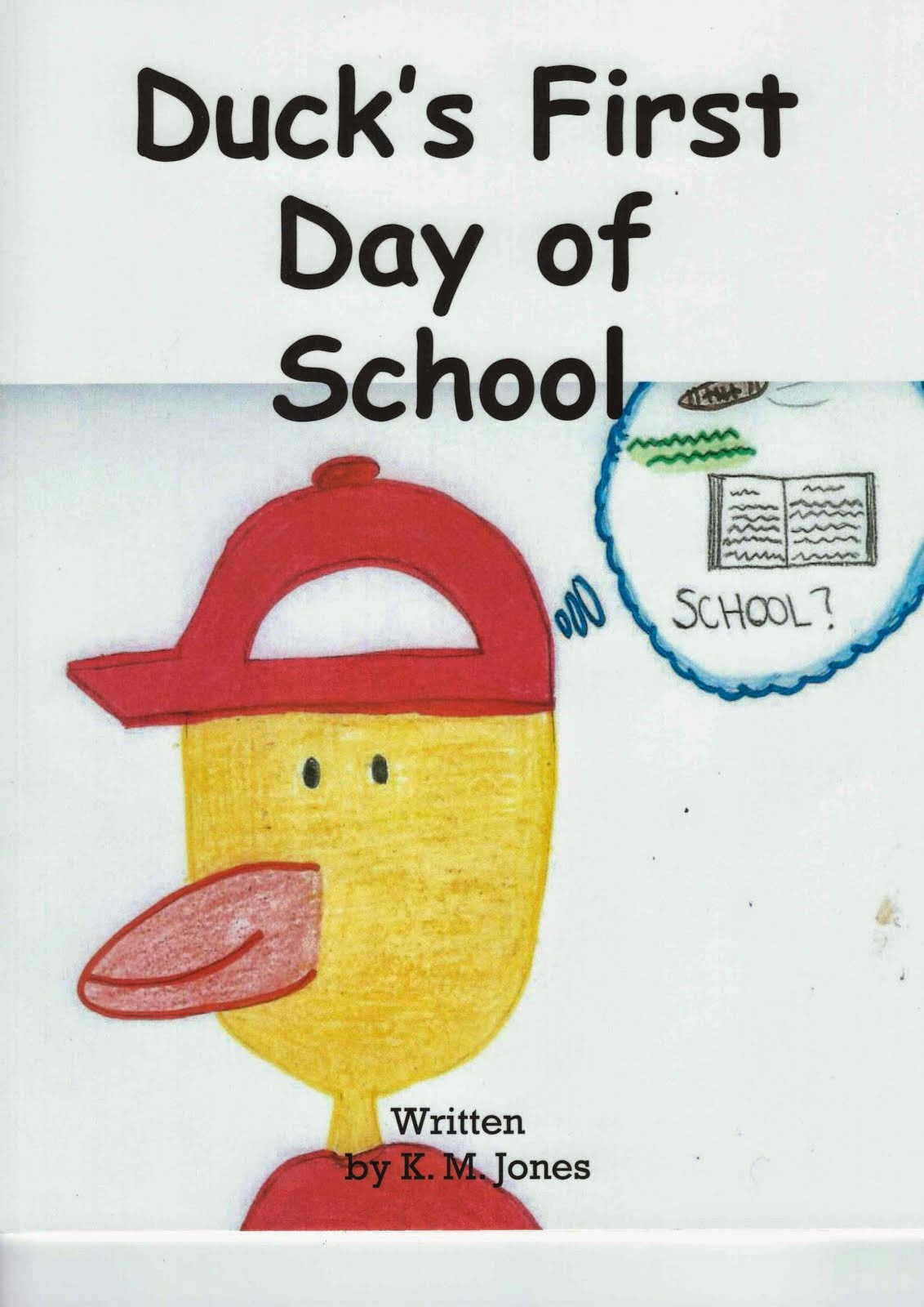 Duck's first day of school